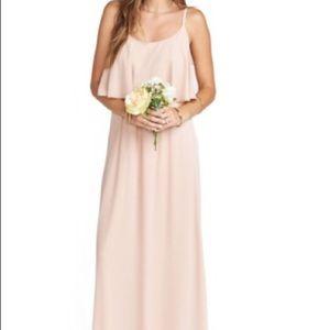 XS Show Me Your Mumu Blush Bridesmaid Dress